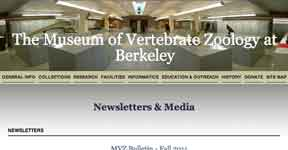 The Museum of Vertibrate Zoology at Berkeley