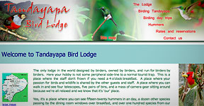 Tandayapa Bird Lodge