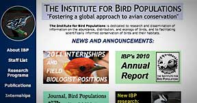 The Institute for Bird Populations