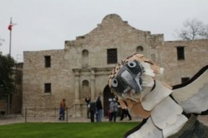 Jeffrey at the Alamo