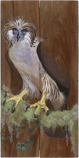 Eagle on Reclaimed Wood