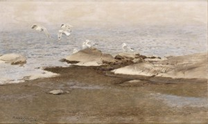 Trutar vid Strankanten, 1908, oil on canvas