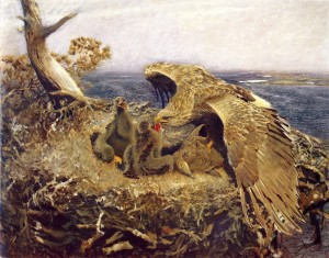 Sea Eagles Nest, 1907, Nationalmuseum, Stockholm, Oil on canvas