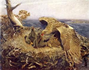 Sea Eagles Nest, 1907, Nationalmuseum, Stockholm, Oil on canvas