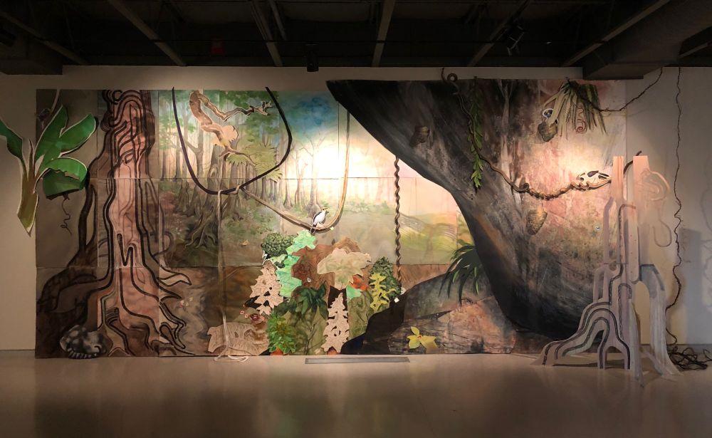 Fresno Museum of Art installation